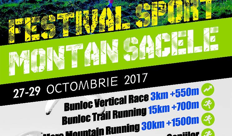 Festivalul Sport Montan Săcele,  27 – 29 octombrie 2017