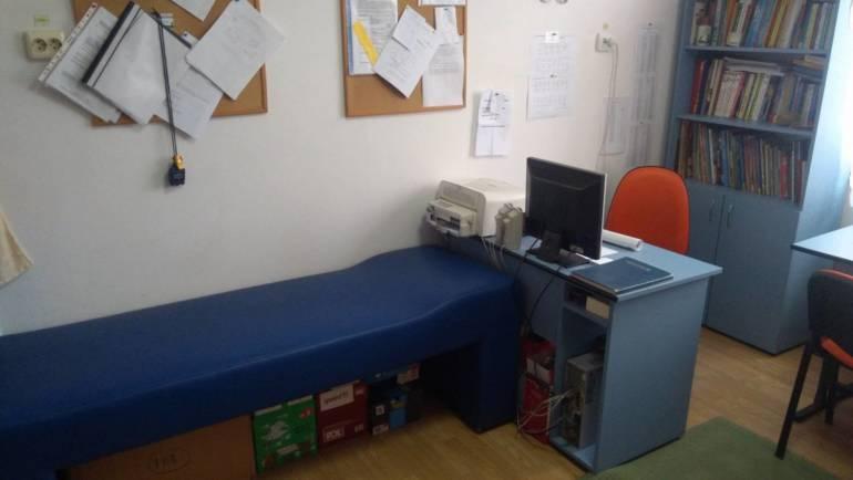 Centrul de vaccinare în cartierul Gârcini