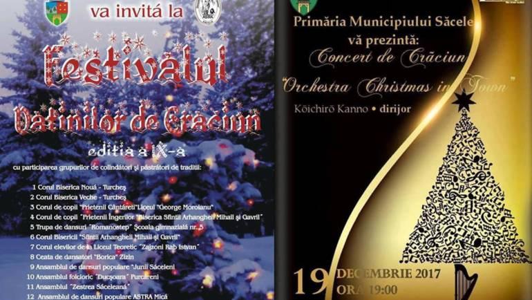 Concerte de Crăciun la Centrul Multicultural și Educațional Săcele