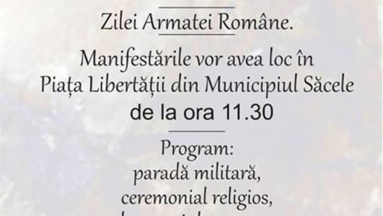 Ziua Armatei Române la Săcele