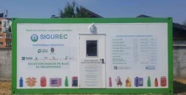 Stații de reciclare inteligente la Săcele. Colectare deșeuri pe bază de recompensă
