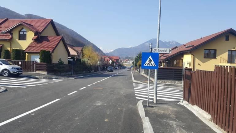 Lucrări de modernizare infrastructură stradală finalizate