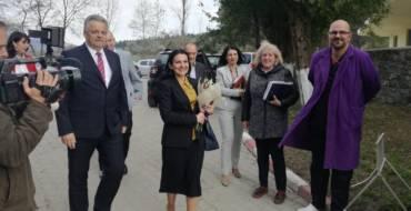 Aprecieri la adresa administrației săcelene și a Spitalului Municipal Săcele din partea Ministrului Sănătății, Sorina Pintea
