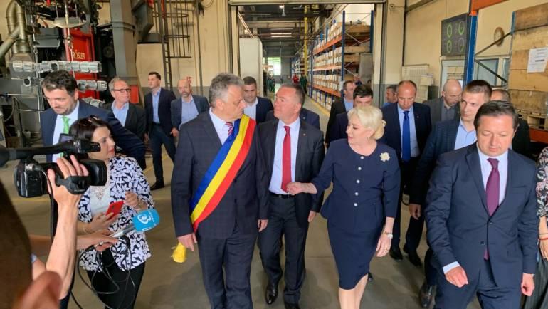Primul ministru Viorica Dăncilă în vizită la Săcele