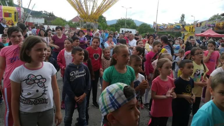 Ziua Internațională a Copilului sărbătorită la Săcele
