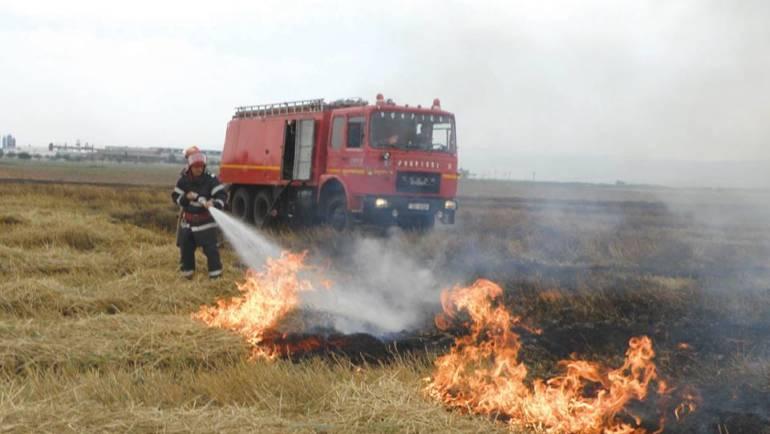 I.S.U. – Planul comun de măsuri referitoare la arderea miriștilor și a resturilor vegetale pe terenurile arabile