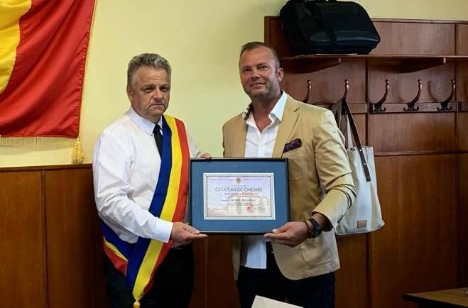 Ionel Paveluc – cetățean de onoare al Municipiului Săcele