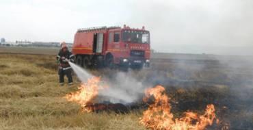 Informare ISU – risc incendii în perioada de recoltare a cerealelor
