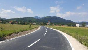 Finalizare lucrări de modernizare str. Tărlungului