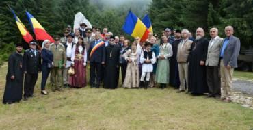 Ceremonie militar-religioasă la pasul Bratocea