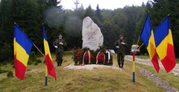 Ceremonie militar-religioasă la Pasul Bratocea, vineri, 16 august