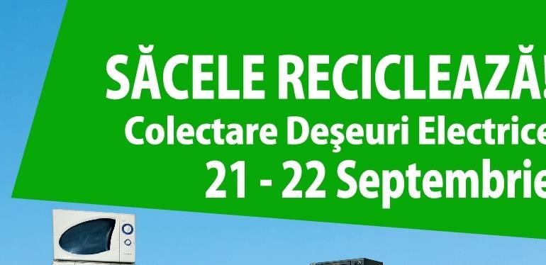 Câștigătorii campaniei de colectare deșeuri de echipamente electrice și electronice