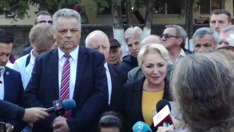 Vizita Premierului României Viorica Dăncilă la Săcele
