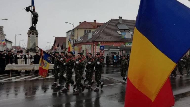 Ziua Națională a României sărbătorită la Săcele