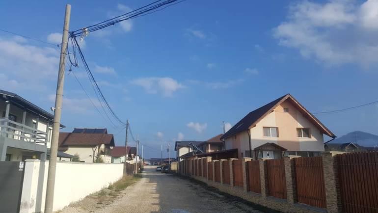 Extindere rețele de energie electrică în cartierul Toamnei