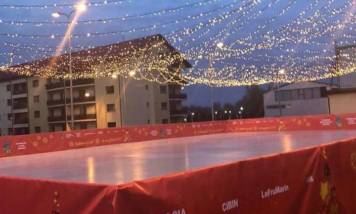 Inaugurarea patinoarului din cartierul Ștefan cel Mare – 6 decembrie