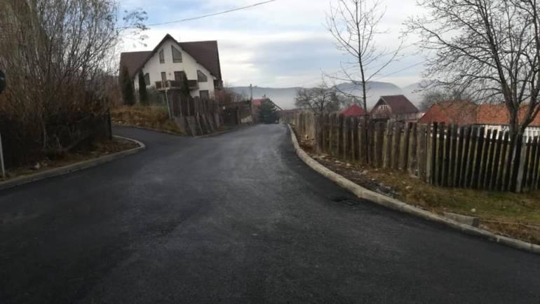 Finalizare lucrări de modernizare a străzii Livezii