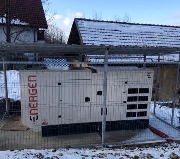 Generator electric nou la Spitalul Municipal Săcele