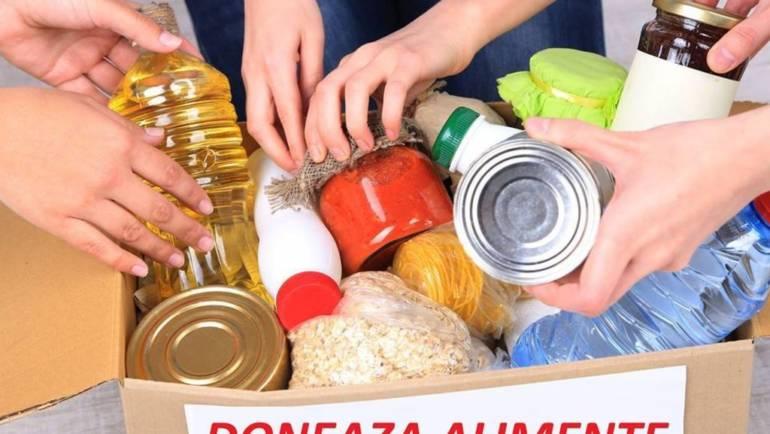 Donează alimente