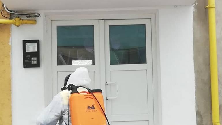 Nouă dezinfecție a scărilor de bloc în 23 și 24 aprilie
