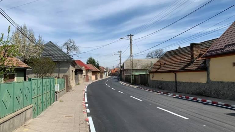 Finalizare lucrări de asfaltare pe Bdul Brașovului