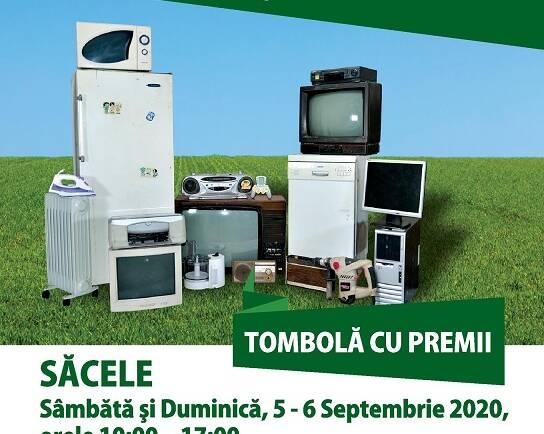 Campanie de colectare de deșeuri electrice și electronice