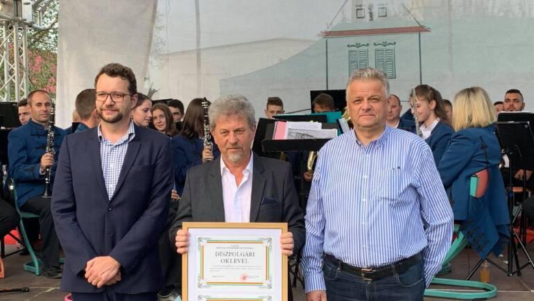 Profesorul Mihail Bencze – cetățean de onoare al Municipiului Săcele