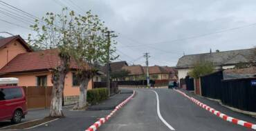 A fost finalizată modernizarea parțială a străzii Oituz