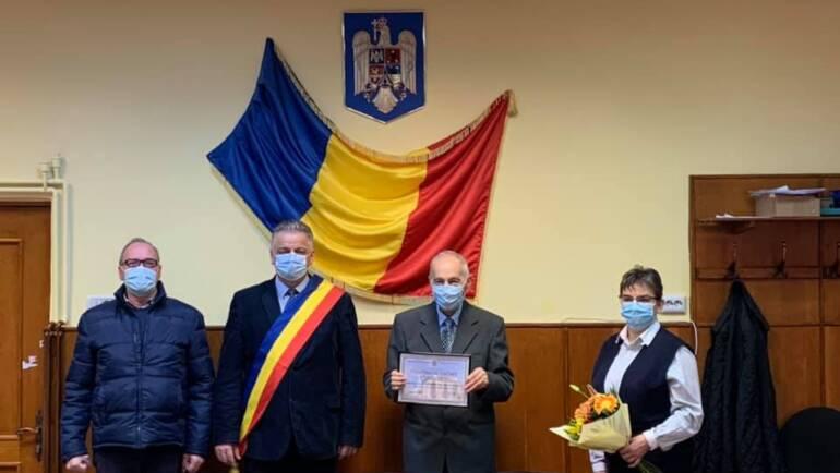 Prof. Univ. Dr. Gheorghe Munteanu – cetățean de onoare al Municipiului Săcele