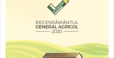 În perioada 10 mai – 31 iulie se va desfășura Recensământul General Agricol Runda 2020.