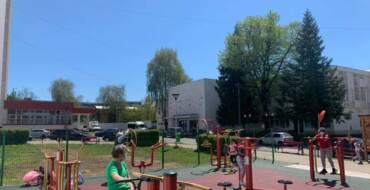 Parc de fitness în cartierul Electroprecizia