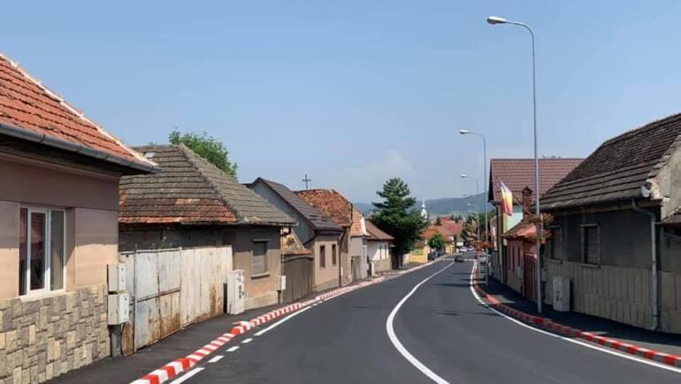 Finalizare lucrări de modernizare Bdul Brașovului