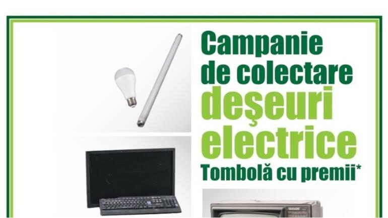 Campanie de colectare deșeuri electrice, 2- 3 octombrie